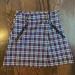 Wrap School girl skirt